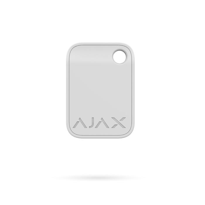 Llavero Tag Ajax. Acceso sin contacto Mifare para sistema de Alarma Ajax color blanco